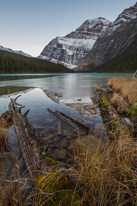 Cavell Lake Fall